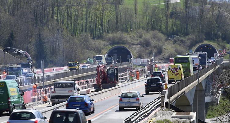 Haut niveau de sécurité sur les routes suisses