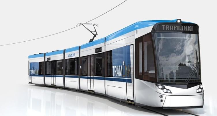 Les BLT et AVA veulent acheter 18 « Tramlink » à Stadler Rail