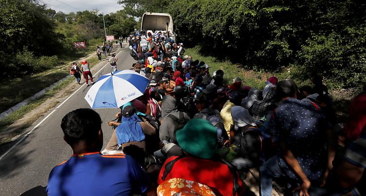 Les migrants repartent, les tensions américano-mexicaines aussi