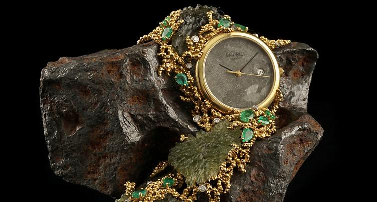 Des bijoux du célèbre joaillier Gilbert Albert en vente à Genève