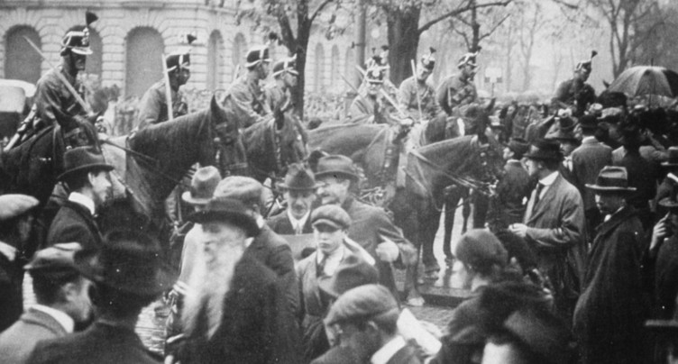La grève générale de 1918 a été commémorée à Olten