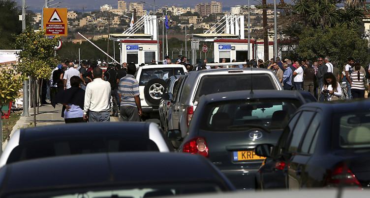 Deux points de passage ouvrent à Chypre, une première en huit ans