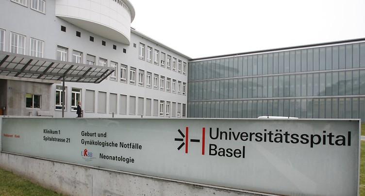 Désinfection avec un appareil mobile à ultraviolet à Bâle