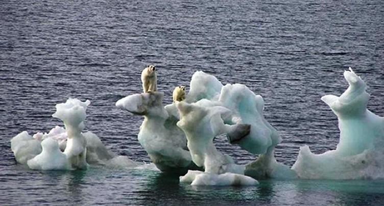 La fonte des calottes glaciaires pourrait être irréversible (étude)
