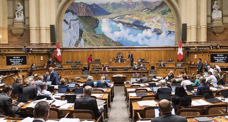 Un comité de droite s'oppose au projet fiscal du Parlement
