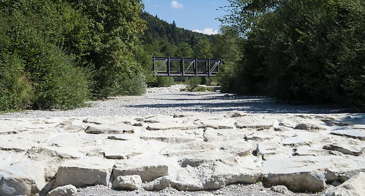 Le climat en Suisse va être plus sec et plus chaud