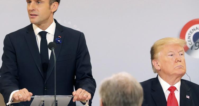 Donald Trump s'en prend avec virulence à la France et à Macron