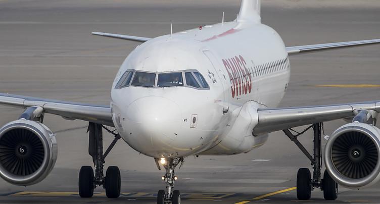 Un drone s'approche dangereusement d'un avion de Swiss