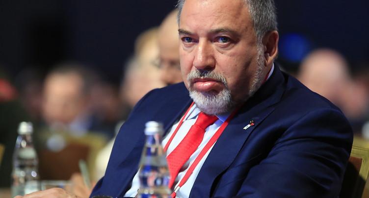 Le ministre de la Défense israélien annonce sa démission