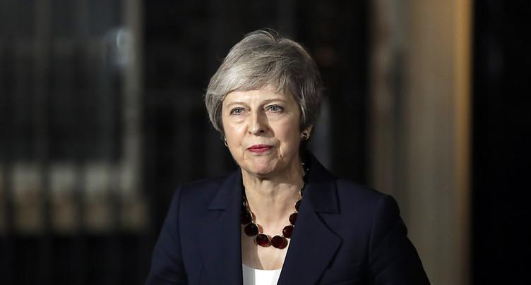 Démissions en série dans le gouvernement de Theresa May