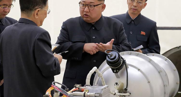 Pyongyang affirme avoir testé une arme de « haute technologie »