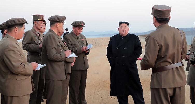 Pyongyang annonce avoir testé « une arme tactique ultramoderne »