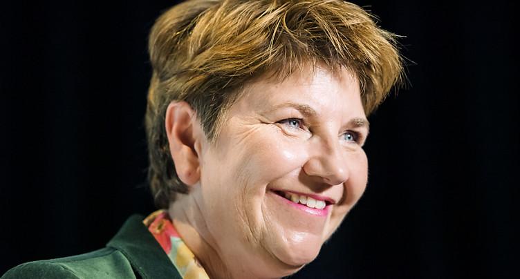 Viola Amherd, une femme au centre de l'échiquier politique