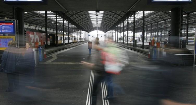 Gare de Lucerne fermée: pas de problème majeur