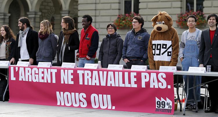 La Jeunesse socialiste fait le plein avec son initiative des « 99% »