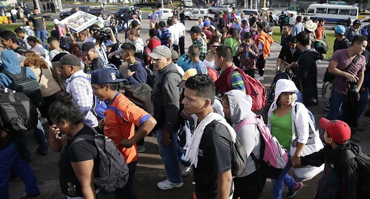 Une nouvelle « caravane » de migrants part pour les Etats-Unis