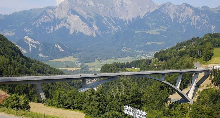 Prix international pour le pont Tamina à Pfäfers (SG)