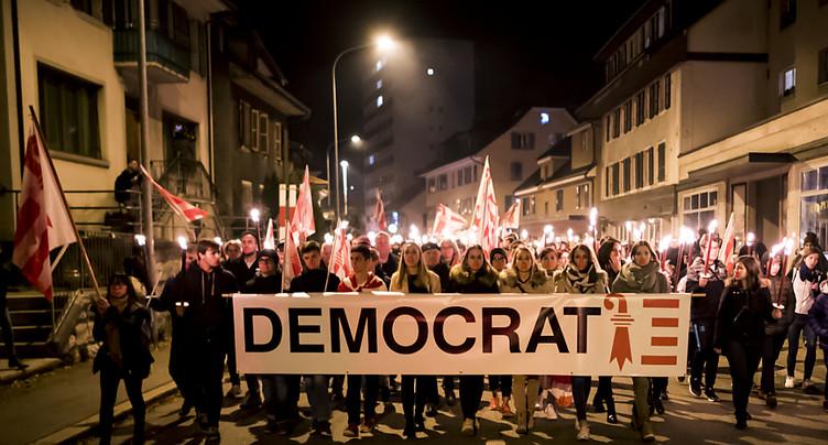 Elections du 25 novembre à Moutier maintenues pour le moment