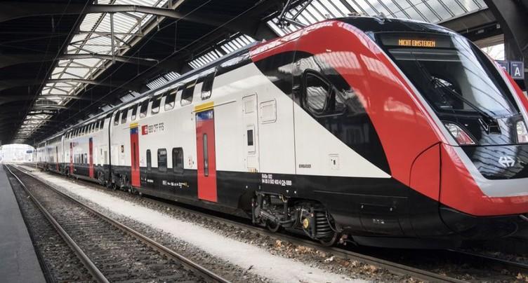 Horaires 2019 des CFF: meilleure offre en Suisse orientale
