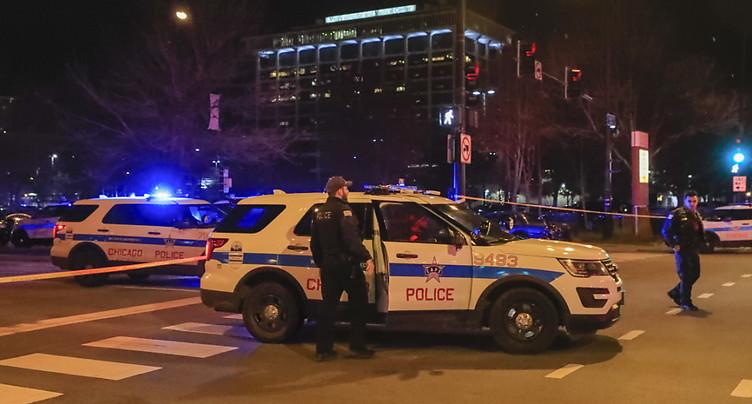 Trois morts, dont un policier, lors d'une fusillade à Chicago