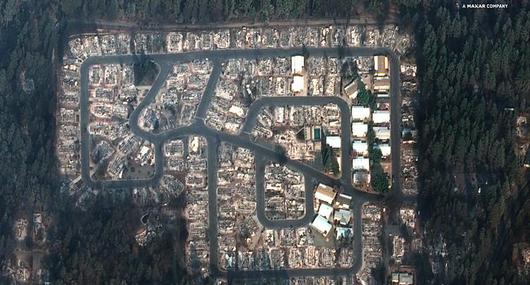 Incendie en Californie: les recherches menacées par la pluie