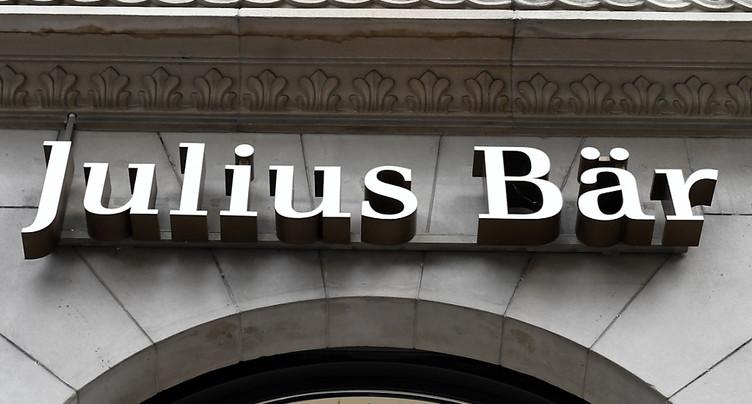 Repli de la masse sous gestion de Julius Bär entre juin et octobre