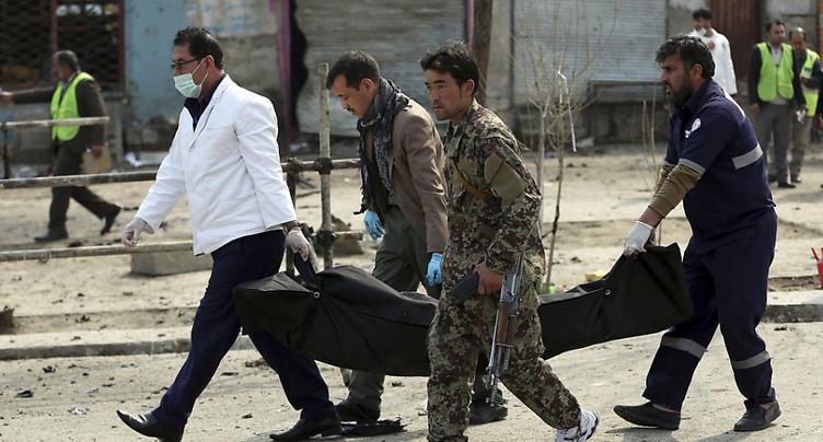 Explosion près d'une salle de mariage à Kaboul, 40 morts