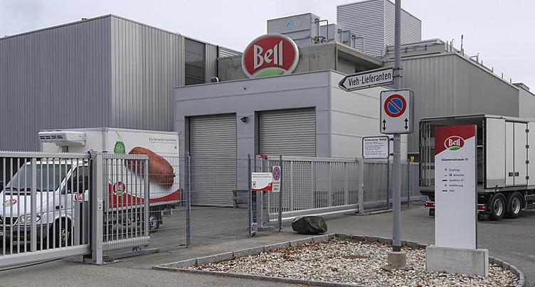 Une centaine d'activistes évacués des locaux de Bell à Oensingen