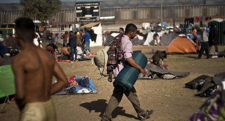 Plus de 4000 migrants sont arrivés à la frontière des Etats-Unis