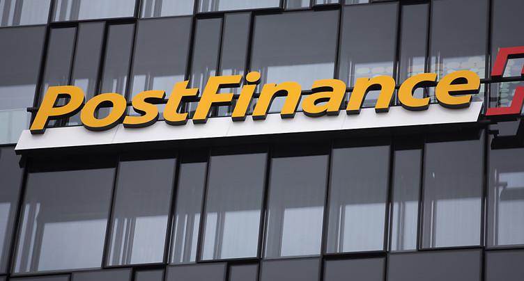 Postfinance voit ses résultats reculer sur 9 mois