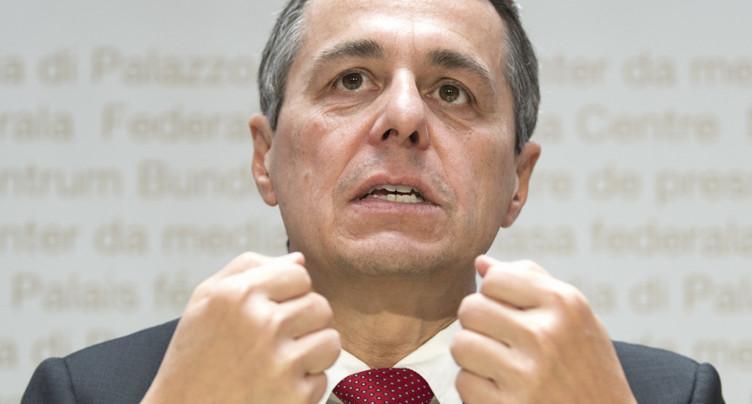 Espionnage: Cassis rencontrera Lavrov mercredi à Genève