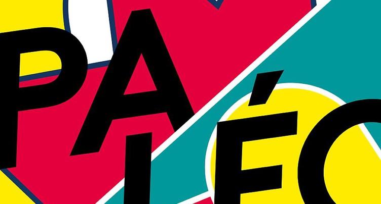 Une affiche pop pour le Paléo Festival 2019