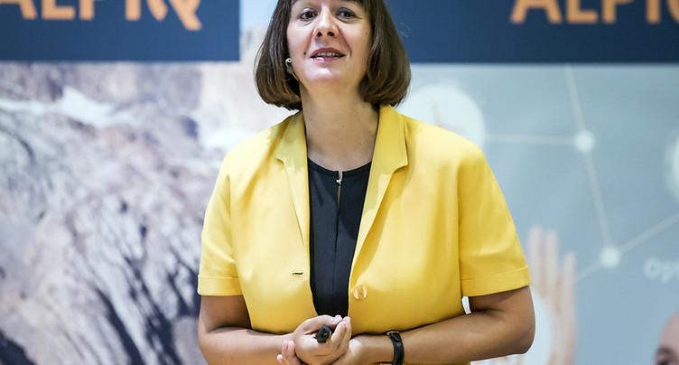 Alpiq: Jasmin Staiblin cède les commandes à Jens Alder