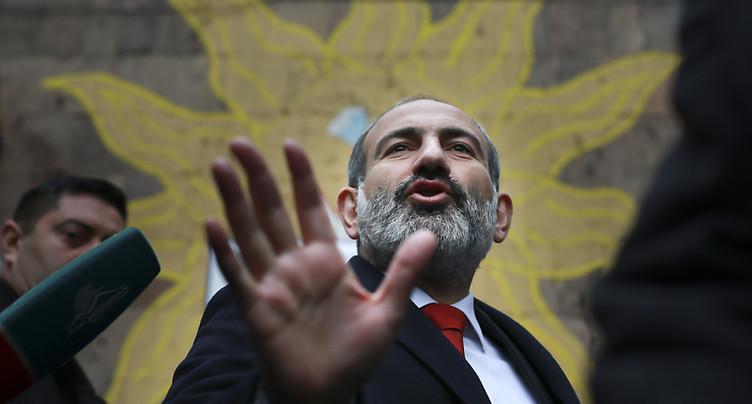 Le Premier ministre arménien a largement remporté son pari