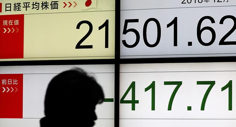 Japon: l'évolution du PIB révisée en nette baisse au 3e trimestre