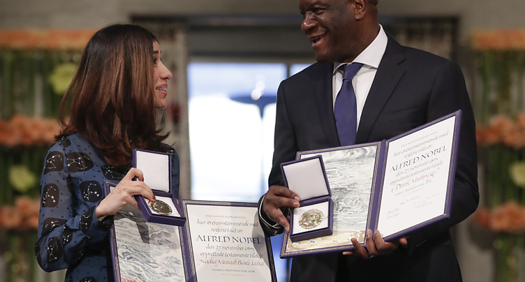 SOS des Nobel de la paix pour les victimes de violences sexuelles