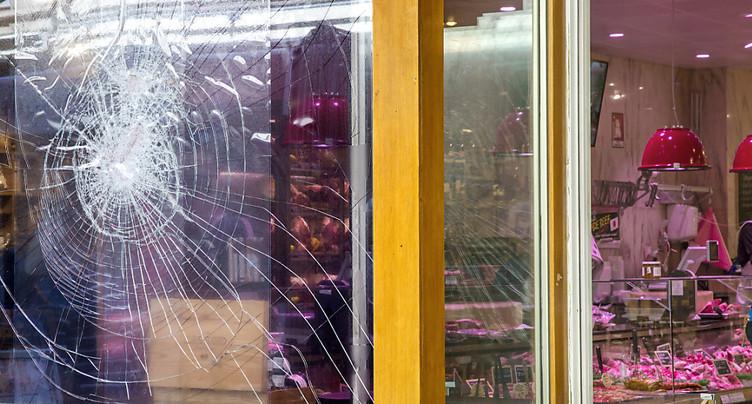 Caillassages de boucheries à Genève: quatre personnes interpellées