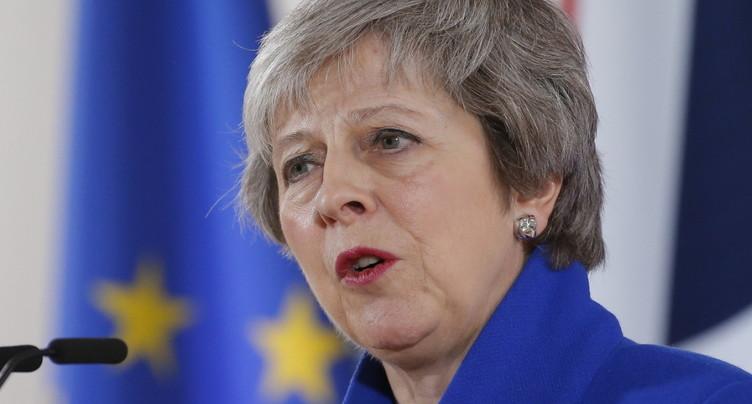 Possible vote de défiance contre la première ministre britannique