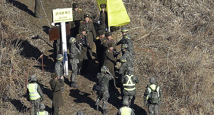 Les deux Corées démantèlent leurs postes-frontières