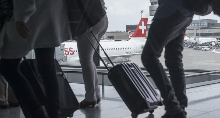 Loisirs: les Suisses bougent moins chez eux et plus à l'étranger