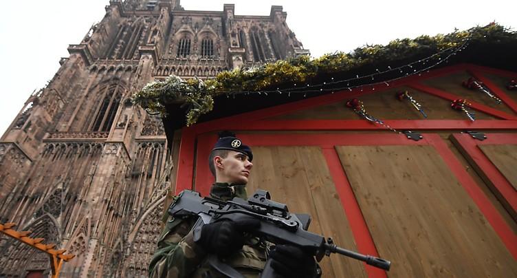 Fusillade à Strasbourg: le suspect connu en Suisse