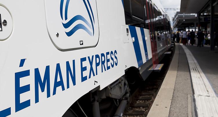 Le canton de Genève se prépare à l'arrivée du Léman Express