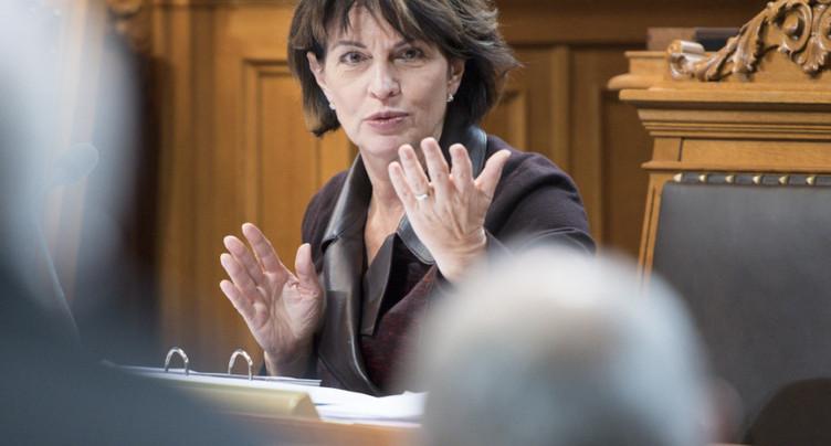 Jean-René Fournier à Doris Leuthard: pas de session sans loup