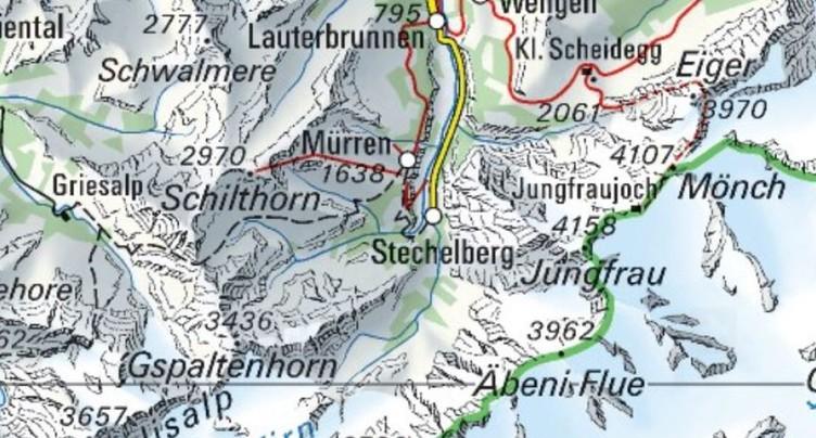 Nouvel accident mortel de base jump à Lauterbrunnen (BE)