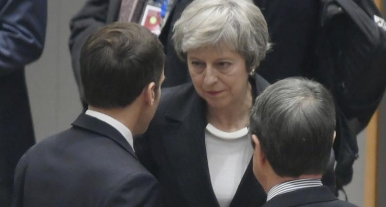 May demande l'aide des Européens pour faire adopter le Brexit