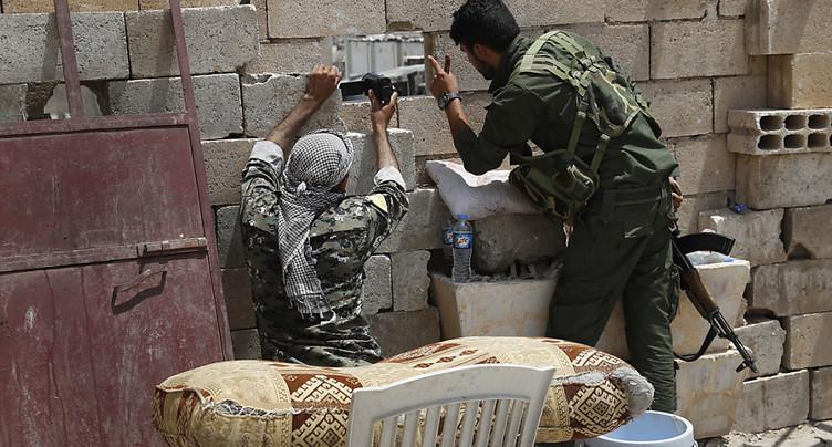Percée d'une coalition kurdo-arabe dans un bastion de l'EI