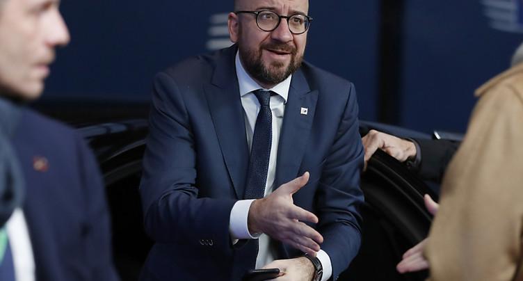 Theresa May n'a pas rassuré les 27, selon le Premier Ministre belge