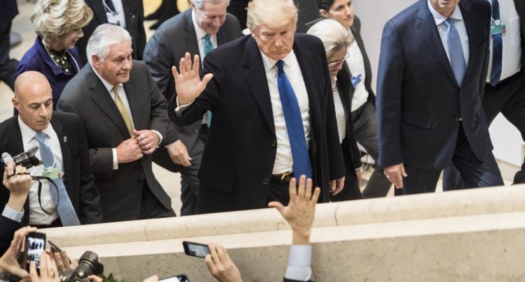 Donald Trump a dopé la visibilité de la Suisse à l'étranger en 2018