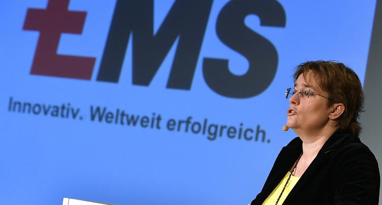 Ems-Chemie confirme ses objectifs pour l'année 2018