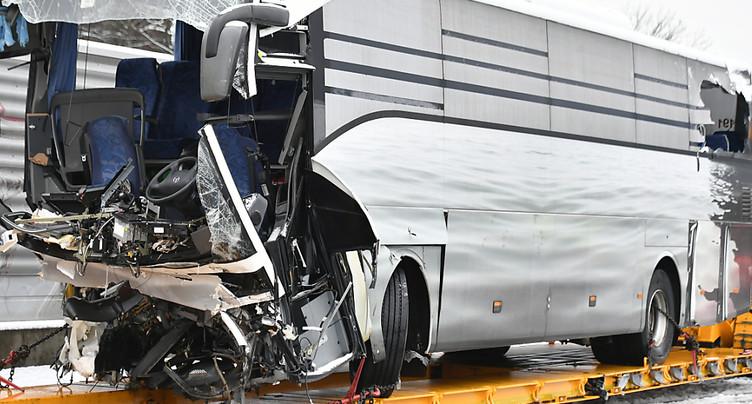 Installation d'une signalisation supplémentaire après l'accident